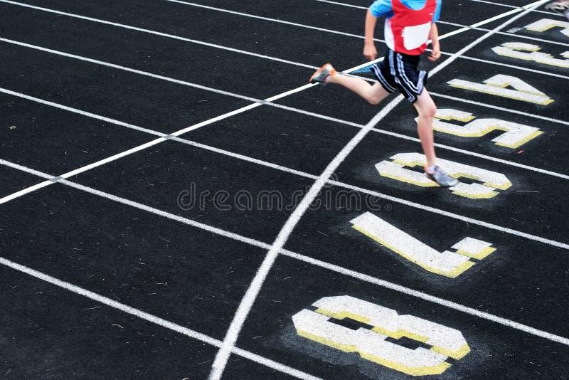 Beenden Sie das Rennen lizenzfreie stockbilder