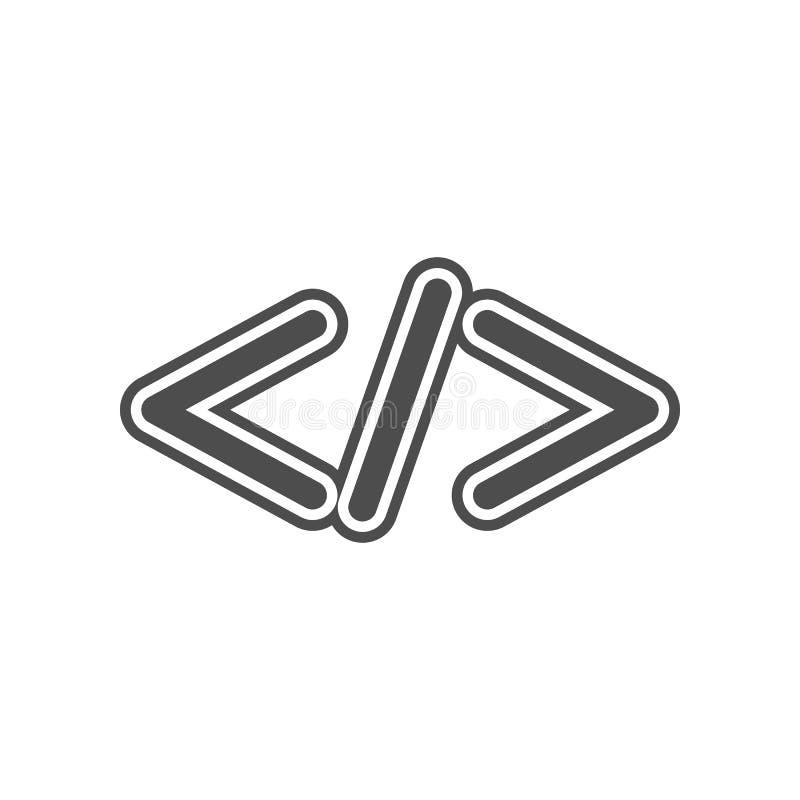 Beenden Sie Zeichenikone Element von minimalistic f?r bewegliches Konzept und Netz Appsikone Glyph, flache Ikone f?r Websiteentwu vektor abbildung