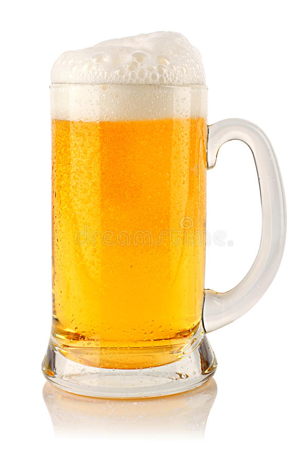Download Beer 1 stock photo. Image of lager, alcohol, foam, drink - 23930948