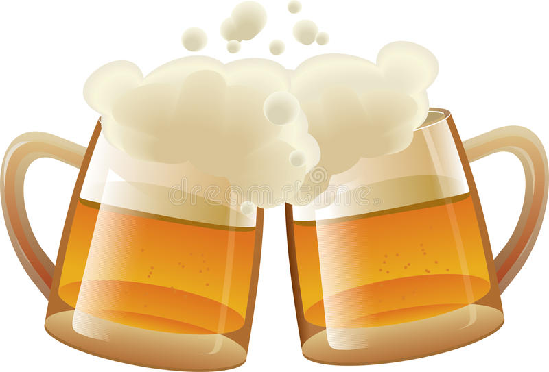 Download Beer stock vector. Image of yellow, liquid, froth, alcohol - 18273782