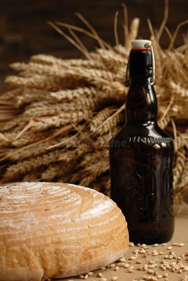 Download Beer stock photo. Image of dinner, bread, roll, poppyhead - 1881802