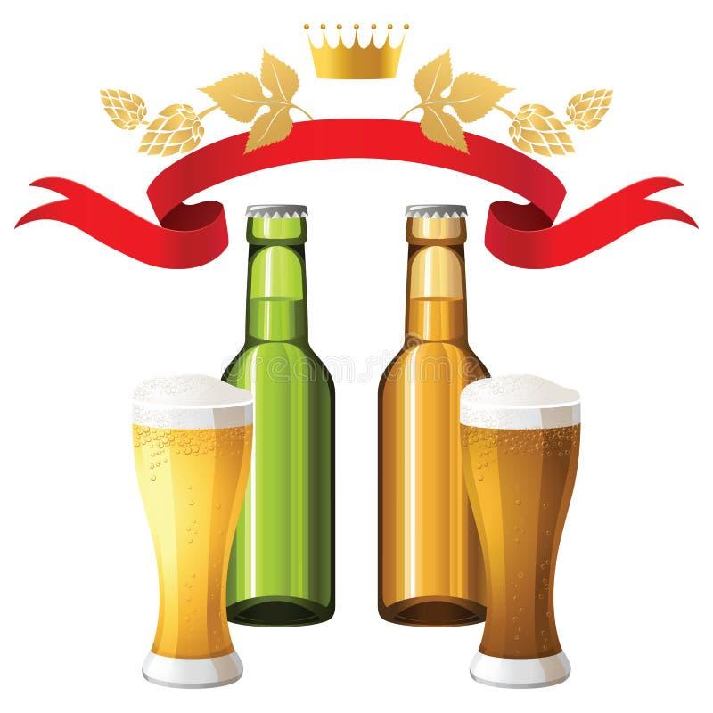 Beer royalty free illustration