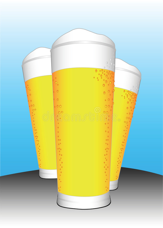 Download Beer stock vector. Image of alcohol, illustration, resizable - 2459121