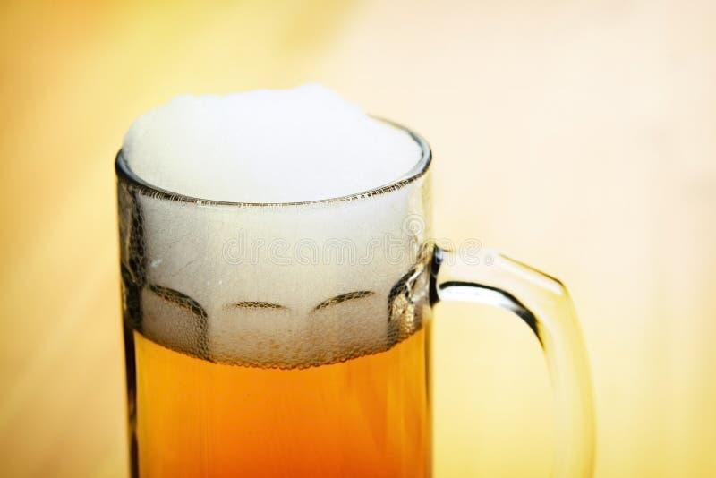 Download Beer stock image. Image of drink, wooden, golden, yellow - 26853113