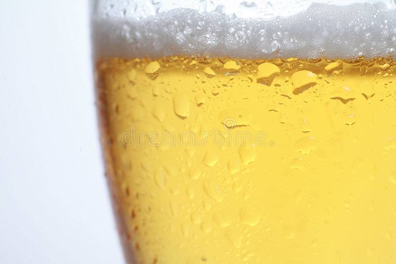 Beer. A close-up of beer stock images