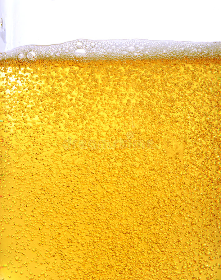 Free Beer And Bubbles Royalty Free Stock Photos - 2348218