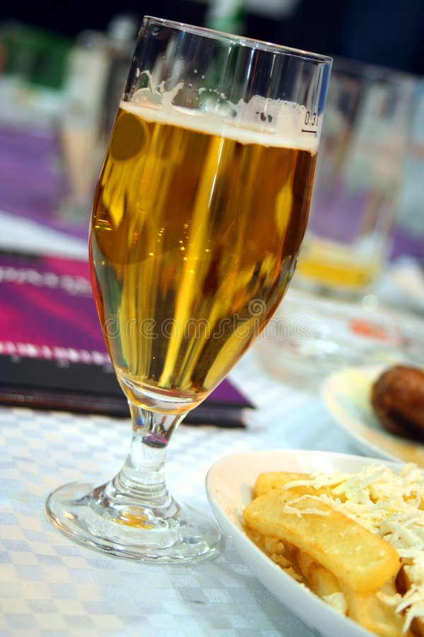 Free Beer And Potatoes Royalty Free Stock Photo - 3672305