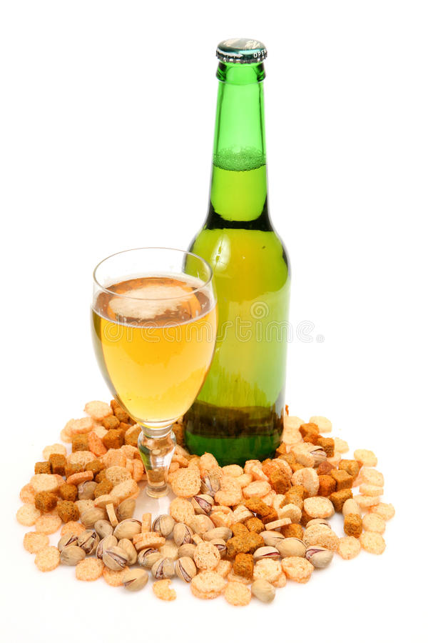 Free Beer And Snack Royalty Free Stock Photography - 11475877