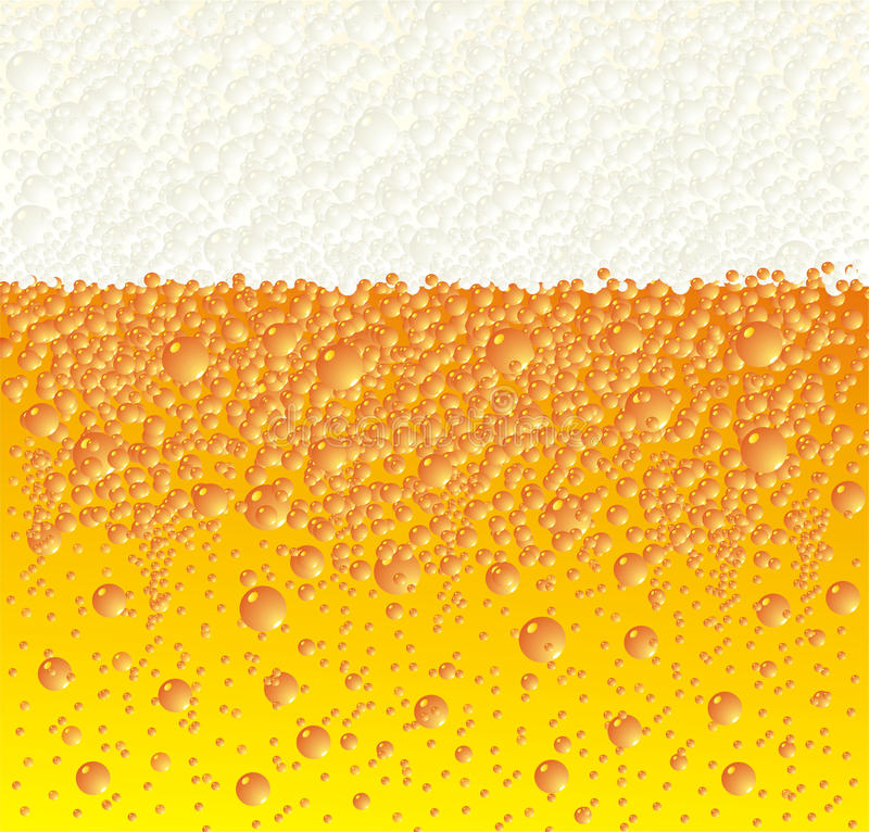 Beer background. Fresh beer background abstract composition vector illustration