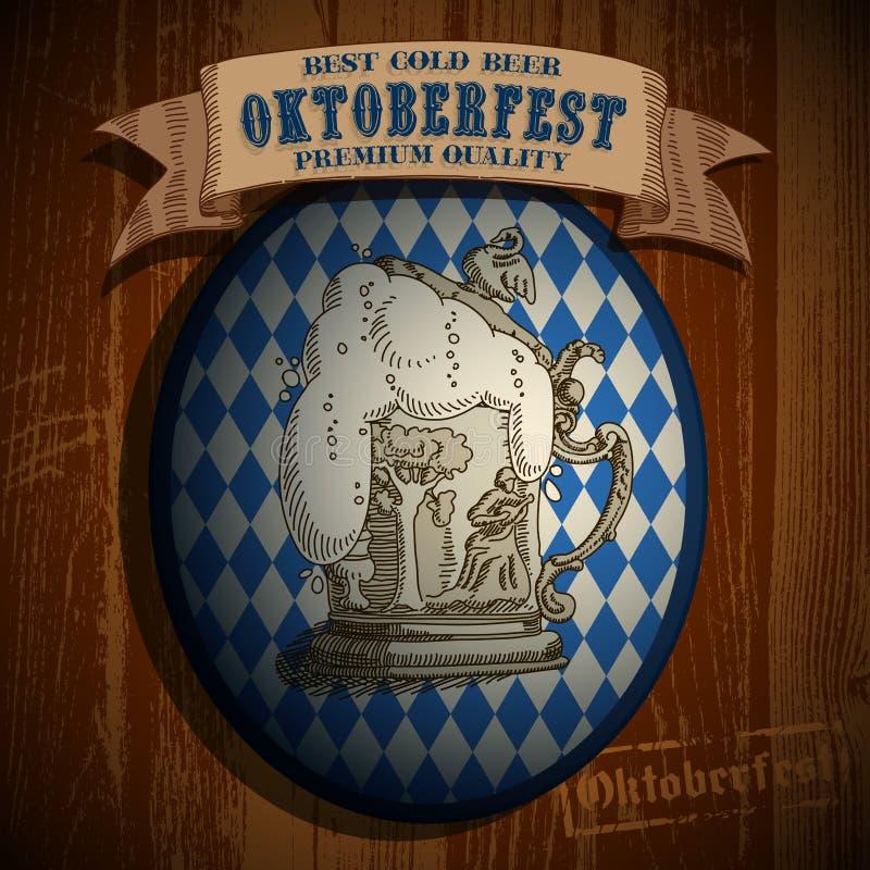Download Beer Background Oktoberfest, Editorial Photo - Image: 43957086