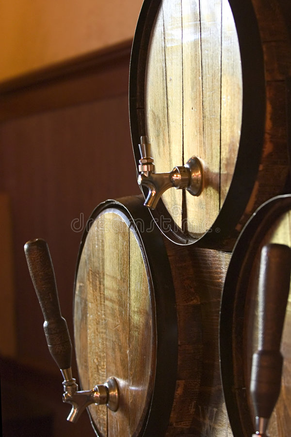 Free Beer Barrels Royalty Free Stock Photo - 194735