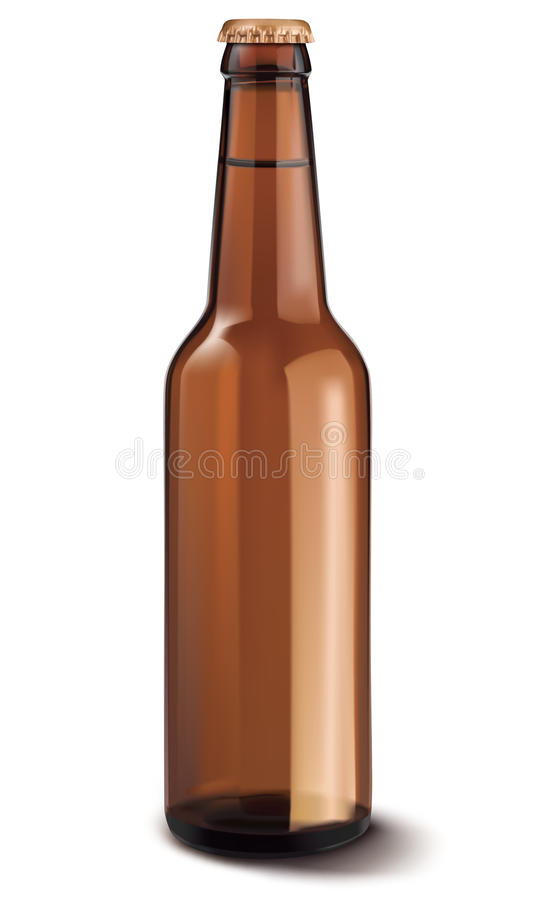 Free Beer Bottle Isolated. Vector Illustration Stock Images - 32721004