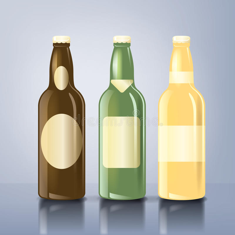 Beer_bottle_labels royalty free stock photo