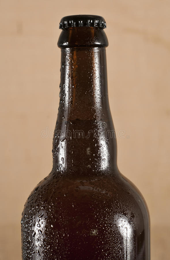Download Beer bottle - Sweating. stock photo. Image of brown, bottle - 36475756