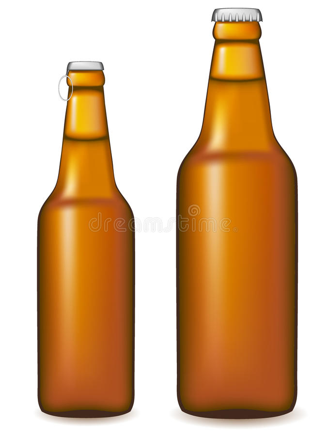 Download Beer Bottle Vector Illustration Stock Illustration - Illustration of isolated, beer: 18660403