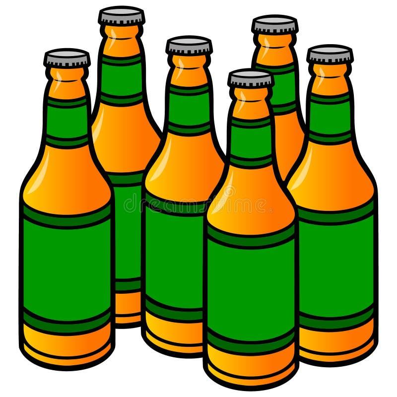 beer bottles stock vector illustration of liquid wine 53636177 rh dreamstime com cartoon beer bottle photo cartoon beer bottle clip art