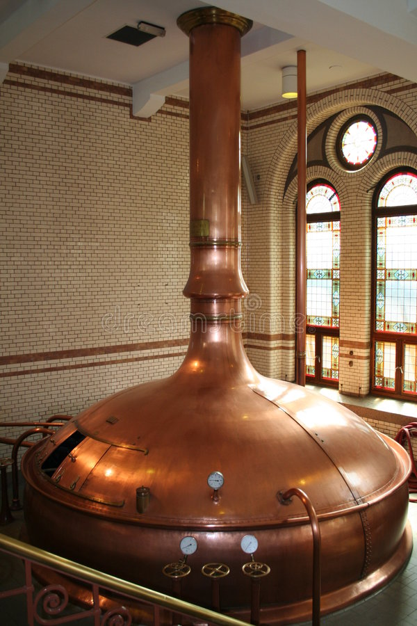 Beer Brewery royalty free stock photo