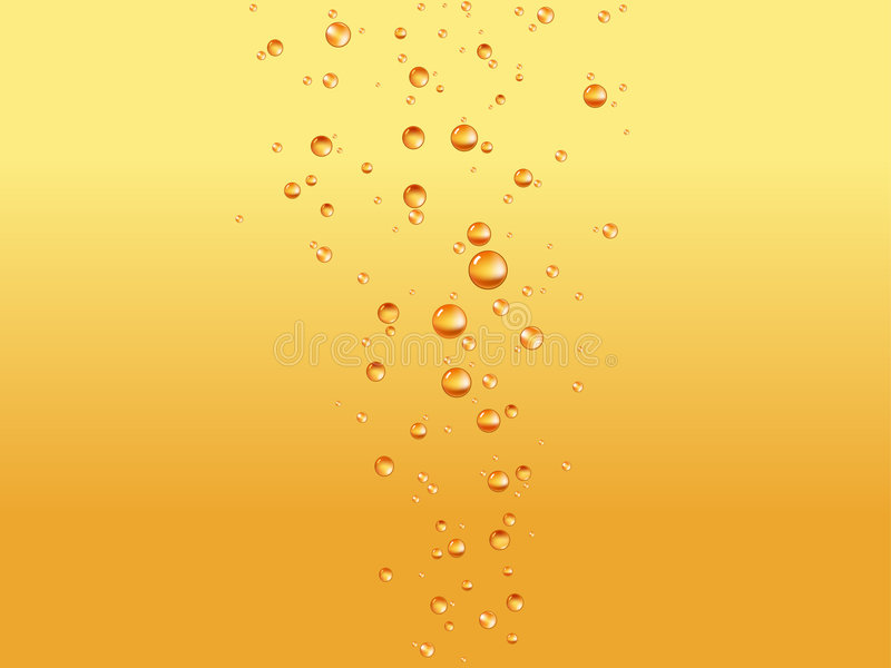 Download Beer bubbles stock vector. Image of background, soda, abstract - 4689236