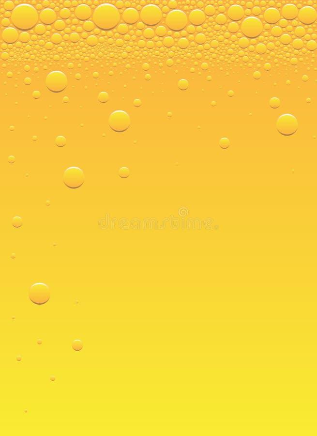 Download Beer bubbles stock vector. Image of orange, lager, freshness - 9523908