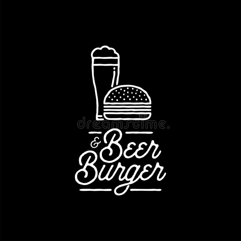 Beer Burger Stock Illustrations 4 136 Beer Burger Stock Illustrations Vectors Clipart Dreamstime