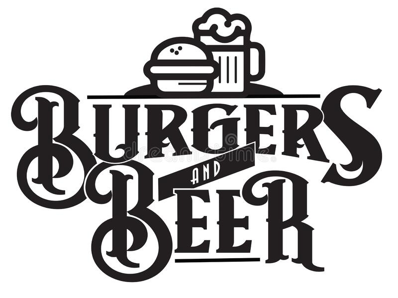 Burgers Logo Stock Vector Illustration Of Design Food 110303999