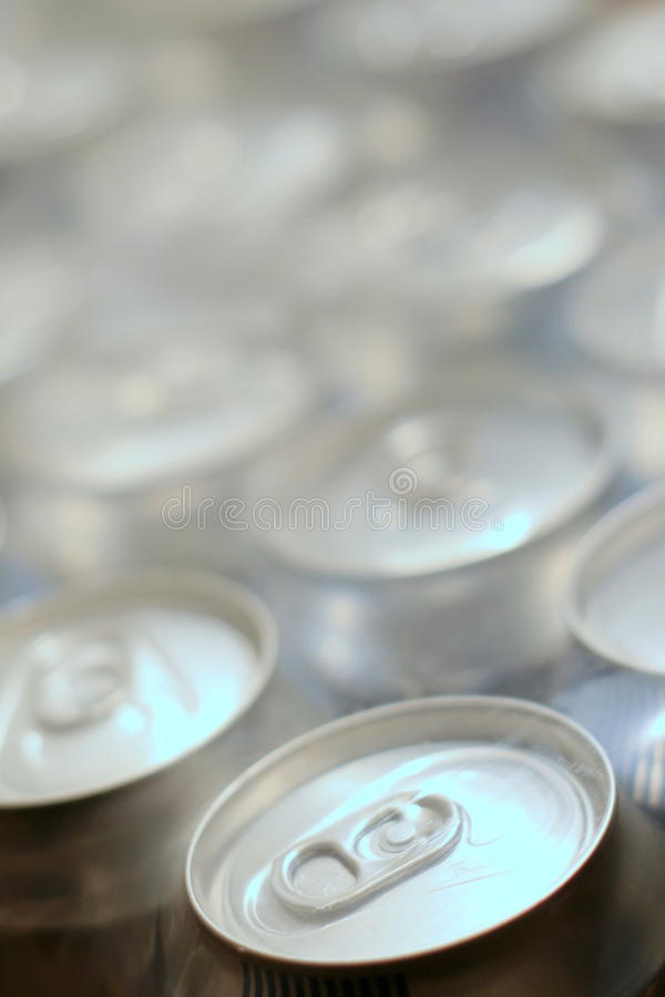 Beer in a can. Set in the package royalty free stock images