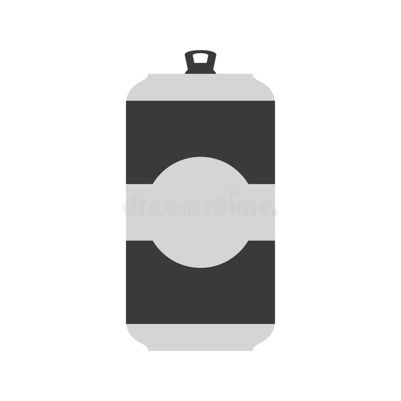 Beer Can I. Beer, can, oktoberfest icon vector image. Can also be used for oktoberfest. Suitable for use on web apps, mobile apps and print media vector illustration