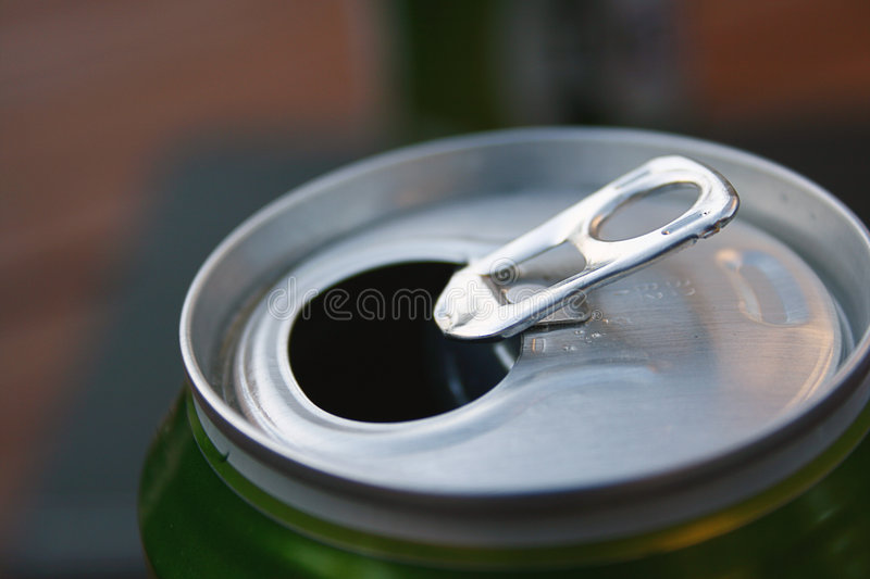 Download Beer Can Ring-Pull stock photo. Image of drinking, alcohol - 3856396