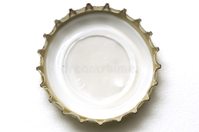 Beer cap royalty free stock photo