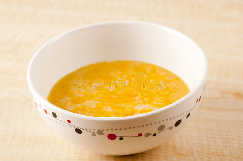 Beer Cheese Soup stock photo
