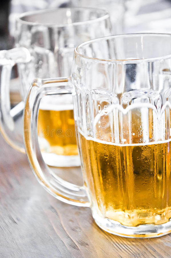 Download Beer Close Up stock image. Image of foam, half, glass - 25636225