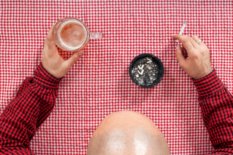 Download Beer drinker stock photo. Image of leisure, baldness - 28903128