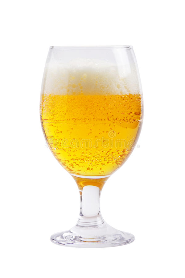 Beer glass royalty free stock images