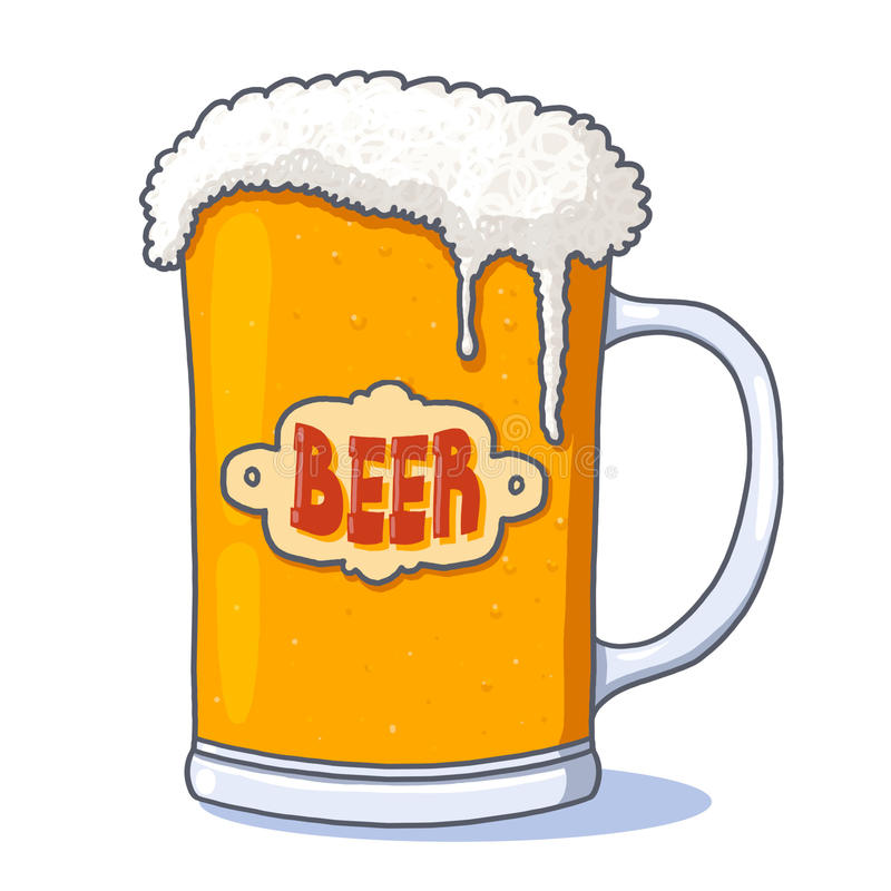 Download Beer Glass Illustration Royalty Free Stock Photography - Image: 21266387