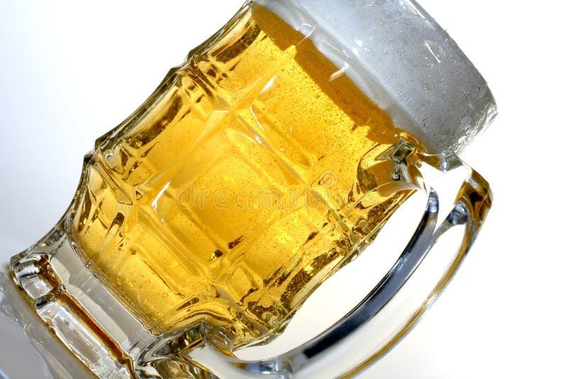 Beer Glass on an Angle