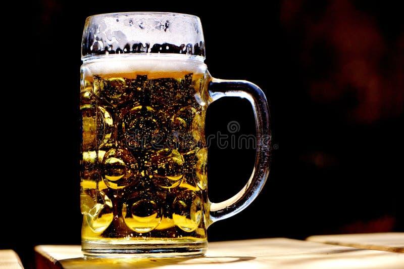Beer Glass, Drink, Beer, Alcoholic Beverage stock photo