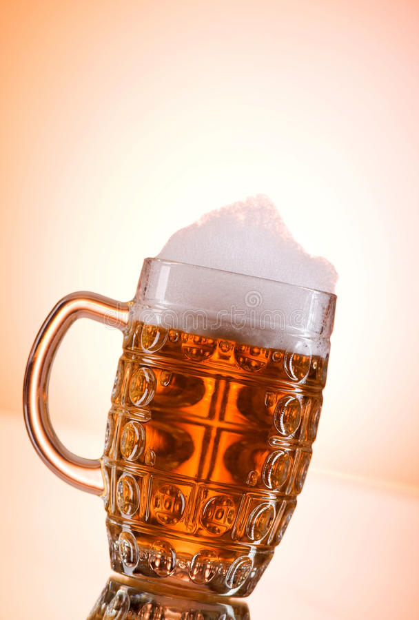 Download Beer glasses stock photo. Image of brewery, cool, brewed - 15302222