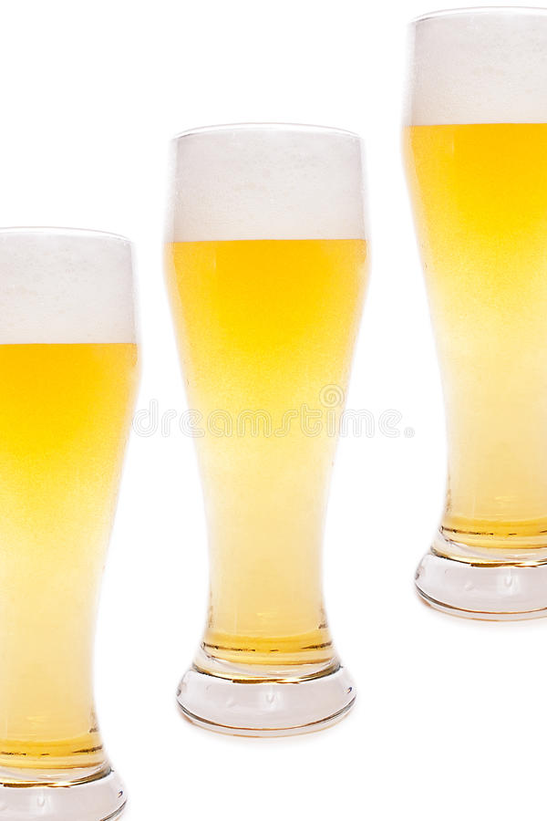 Download Beer glasses stock photo. Image of beerhouse, beer, gold - 20045540