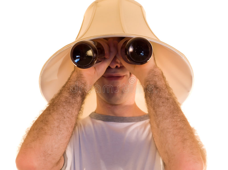 Beer Goggles royalty free stock image