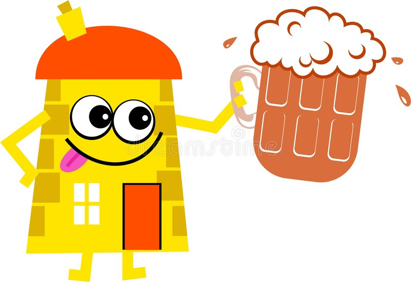 Beer House Royalty Free Stock Images