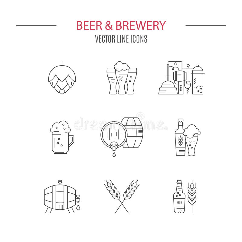 Beer Icon royalty free illustration