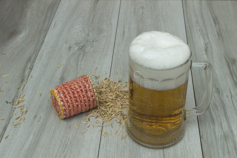 Beer jar royalty free stock photo