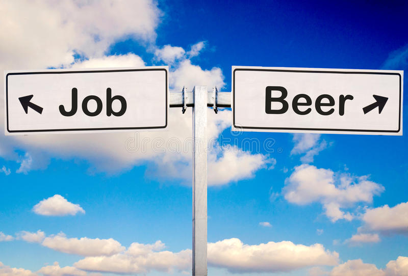 Download Beer or job stock image. Image of background, cloudy - 28095945