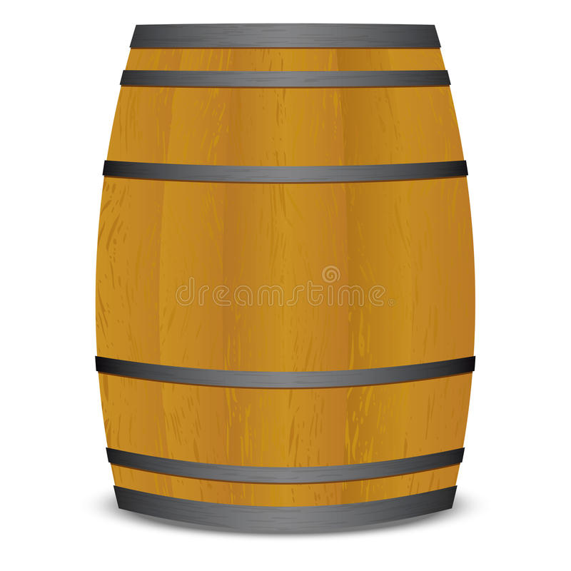 Download Beer keg barrel stock vector. Image of whiskey, container - 12872266