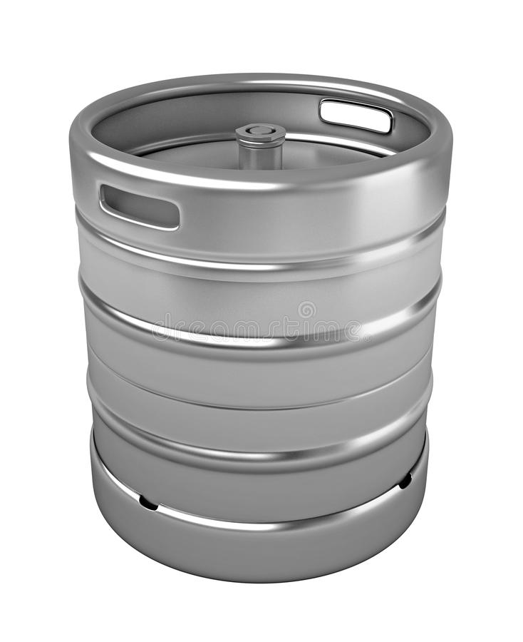 Beer keg stock illustration. Illustration of industry - 48753399