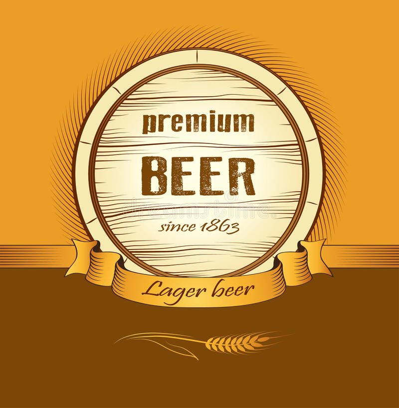 Download Beer Keg For Lable, Package Stock Images - Image: 35508614