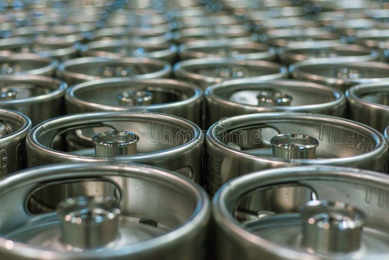 Beer Kegs royalty free stock images