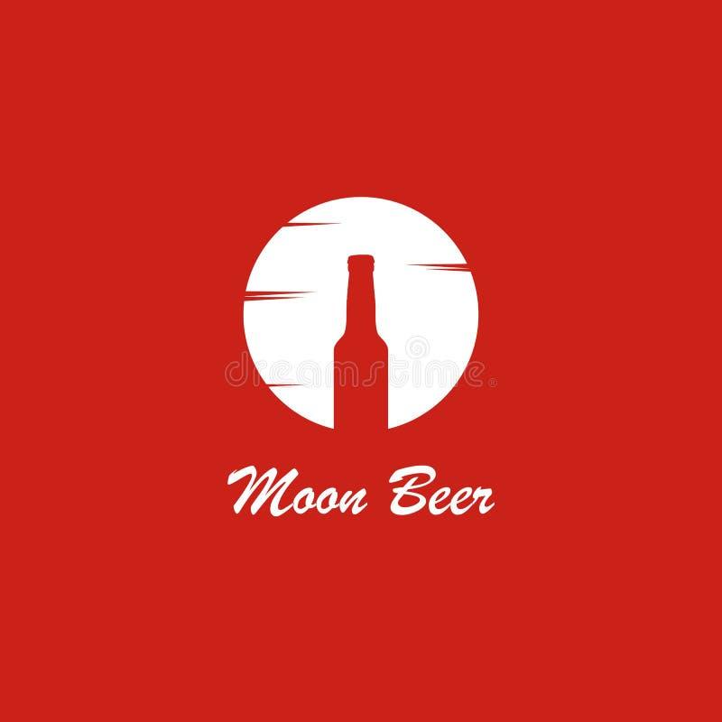 Beer logo template, design vector icon illustration stock illustration