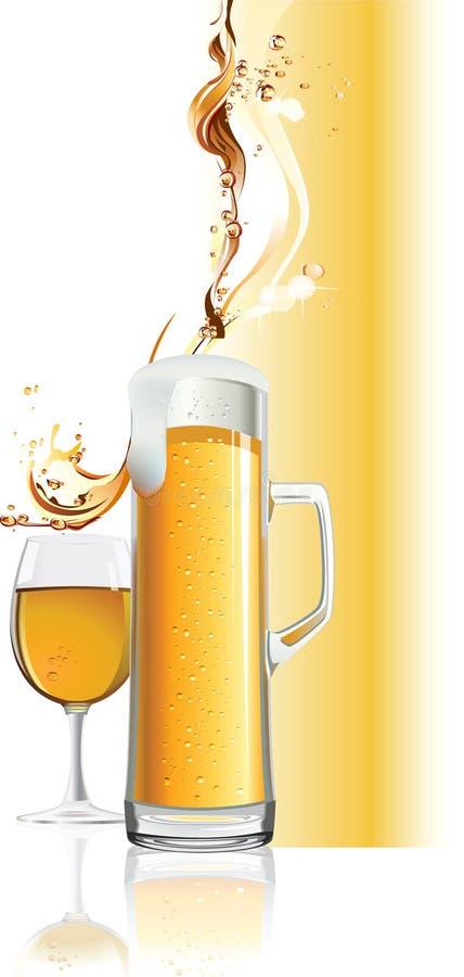 Download Beer mug. stock vector. Image of effect, brewed, beer - 13198341