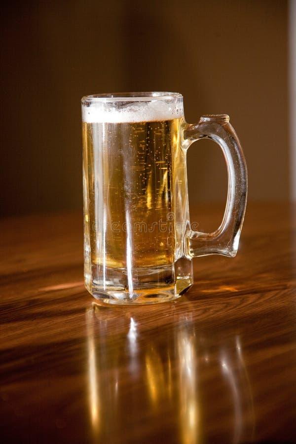 Download Beer & Mug stock photo. Image of amber, table, foam, drink - 18594452